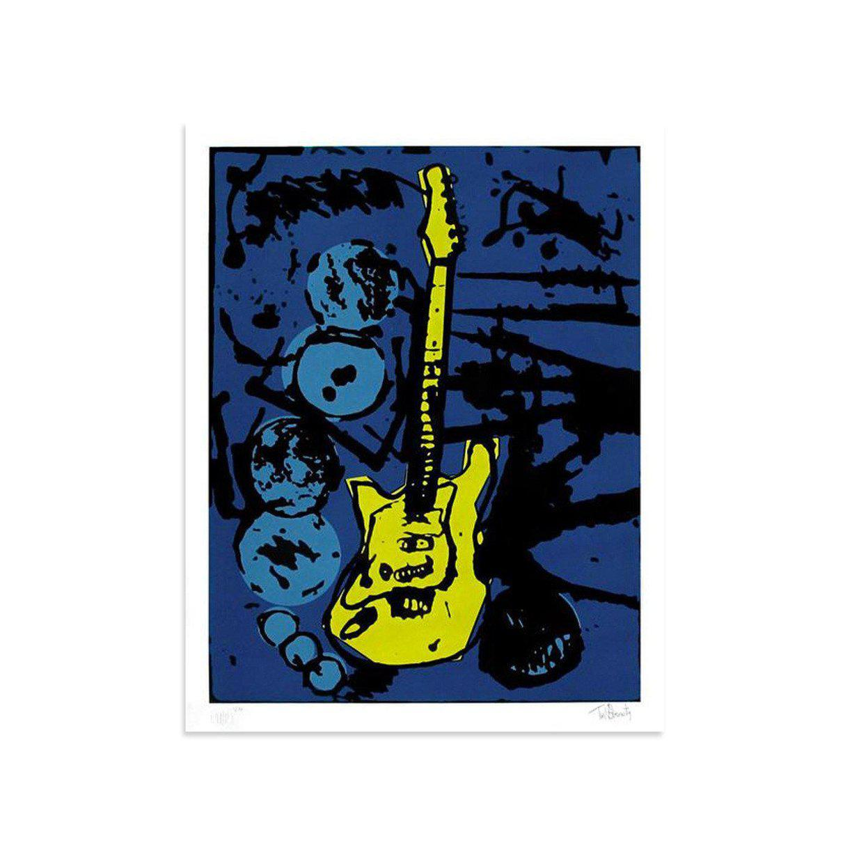 My Operation Ivy Guitar by Tim Armstrong | Archive | Poster Child Prints