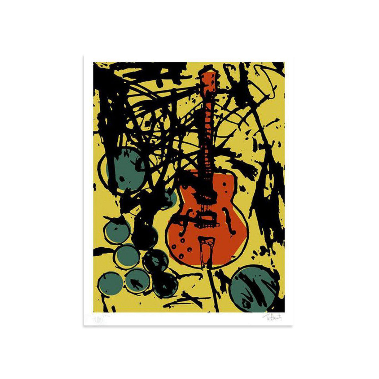 My Country Club Guitar (Color Edition) - Archive by Tim Armstrong-Archive-Poster Child Prints