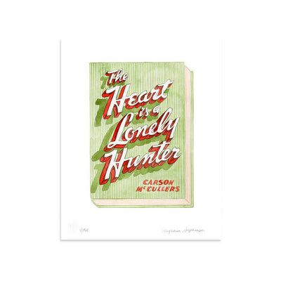 The Heart is a Lonely Hunter by Meghann Stephenson-Print-Poster Child Prints