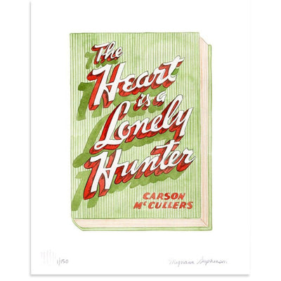 The Heart is a Lonely Hunter is a newPrint by Meghann Stephenson | Poster Child Prints