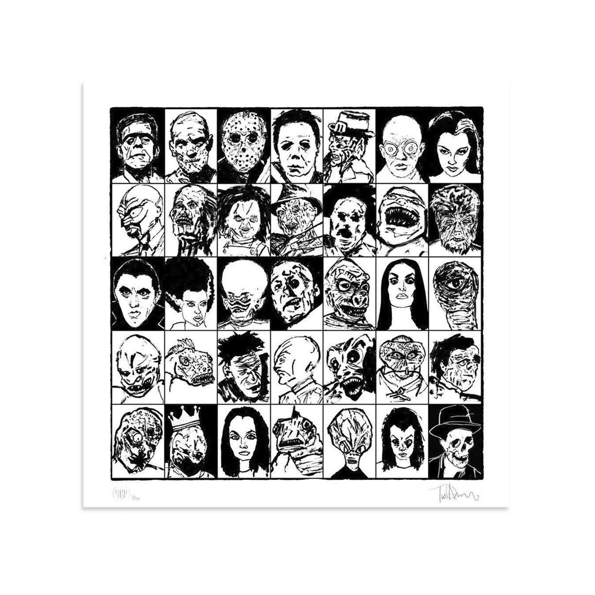 Monster Mugshots by Tim Armstrong-Print-Poster Child Prints