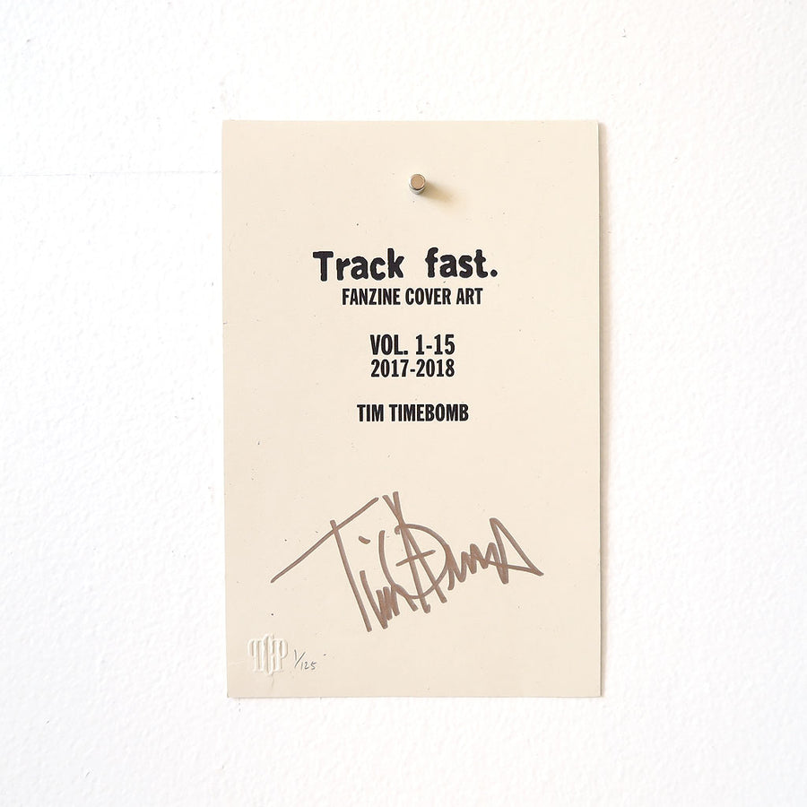 Track fast. Covers Vol. 1-15