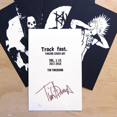 Tim Armstrong | Track fast. Fanzine Cover Art | Limited Edition Prints