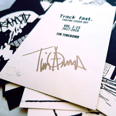 Track Fast. Covers Vol. 1-15 by Tim Armstrong | Archive | Poster Child Prints