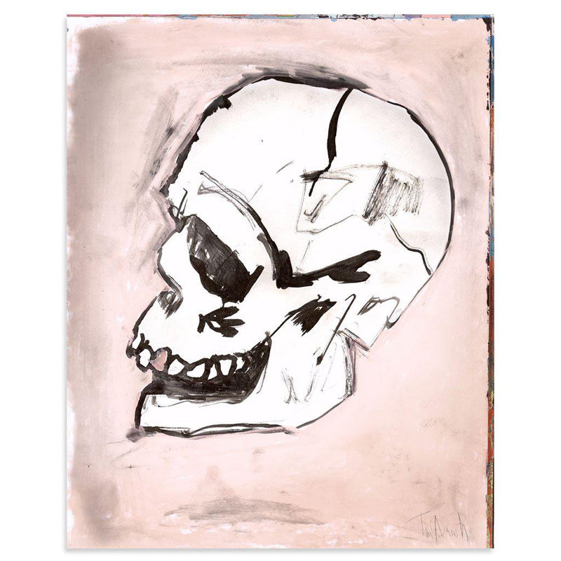 Valentine Skull by Tim Armstrong-Print-Poster Child Prints