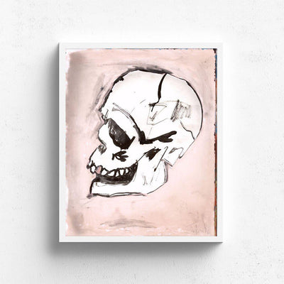 Valentine Skull is a newPrint by Tim Armstrong | Poster Child Prints