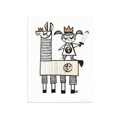 We Are All Kings - Archive by Amanda Visell-Archive-Poster Child Prints
