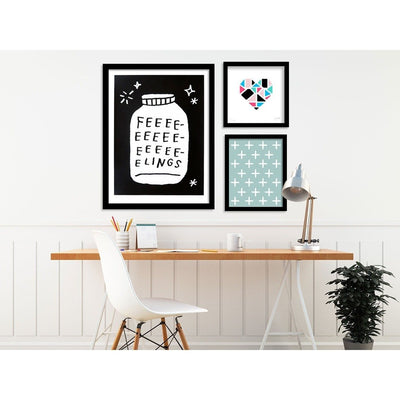 Bottled Up Feelings by Adam J. Kurtz | Print | Poster Child Prints