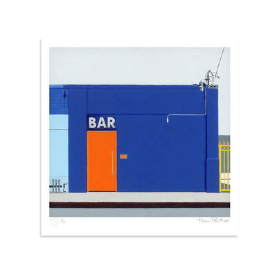 Bar by Horace Panter | Print | Poster Child Prints