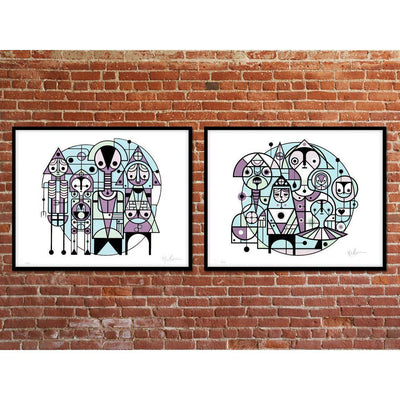 Rapture & Resurrection - Print Set, Don Pendleton | Poster Child Prints