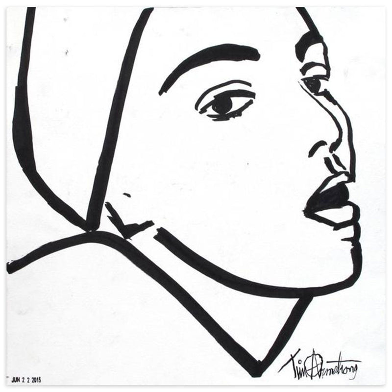 Woman Staring, Tim Armstrong | Poster Child Prints