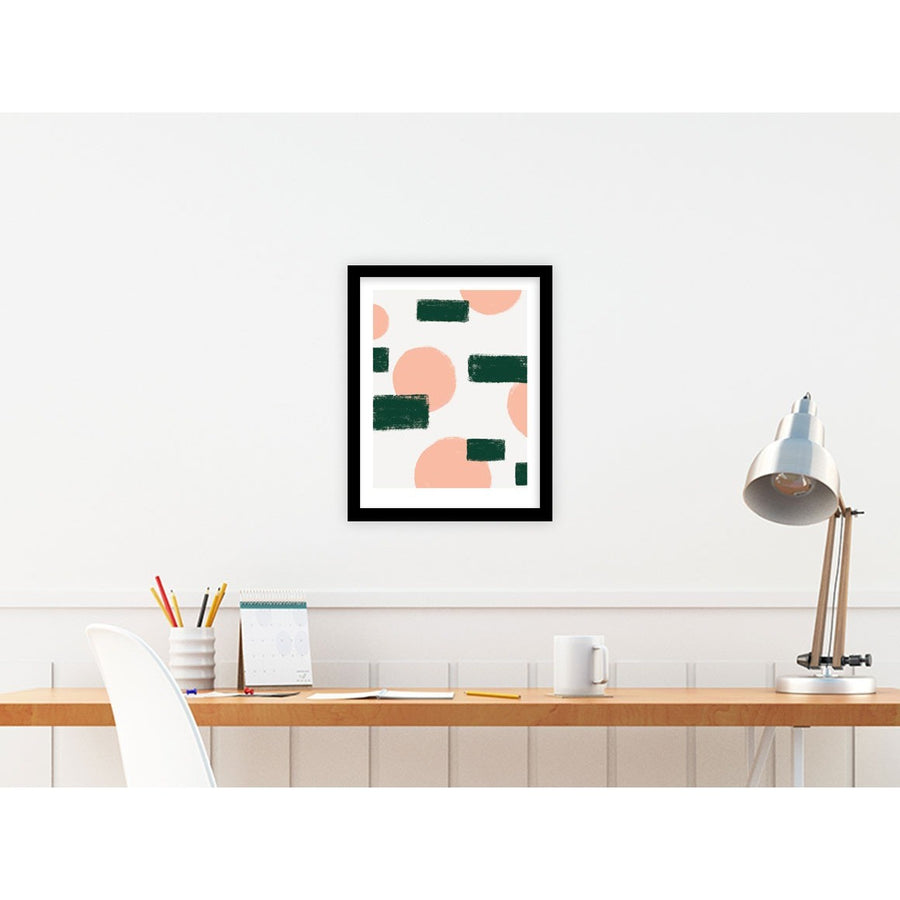 Shapes in Movement | Circles and Square | Abstract Art | PCP Collection