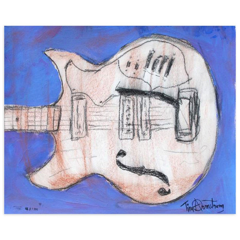 Left Handed Harmony by Tim Armstrong | Original Artwork | Poster Child Prints