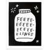 Bottled Up Feelings, Adam J. Kurtz, Print | Poster Child Prints