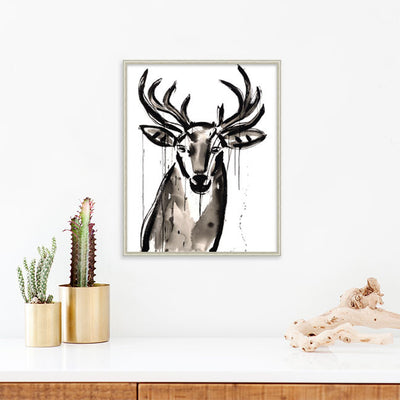 Buck is a newPrint by Jenna Snyder-Phillips | Poster Child Prints