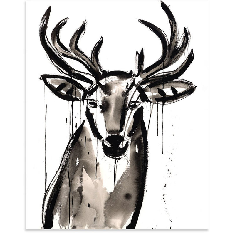 Buck by Jenna Snyder-Phillips | Print | Poster Child Prints