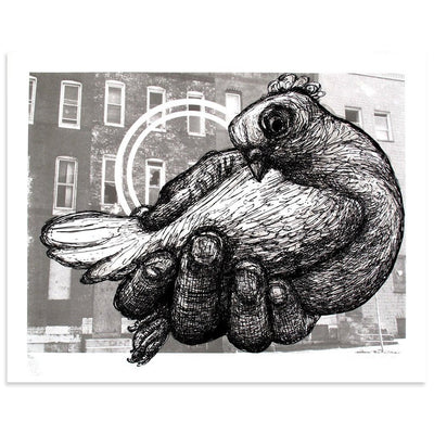Carrier Pigeon by Gaia | Print | Poster Child Prints