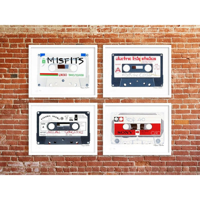 Horace Panter | Poster Child Prints | Rock The Casbah | Cassette Series | Ltd. Ed. Artwork