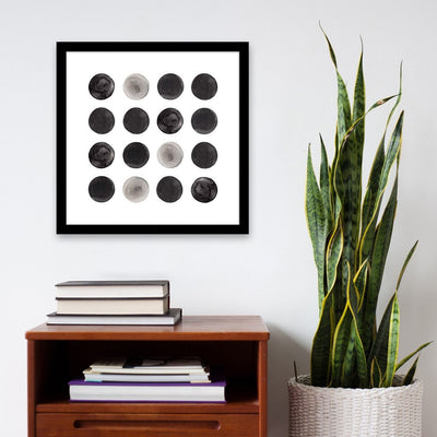 Circles | Simple Black and White Art | PCP Collection