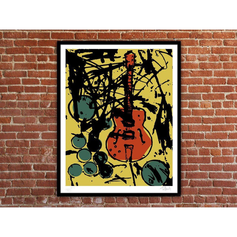 My Country Club Guitar (Color Edition) - Archive, Tim Armstrong | Poster Child Prints