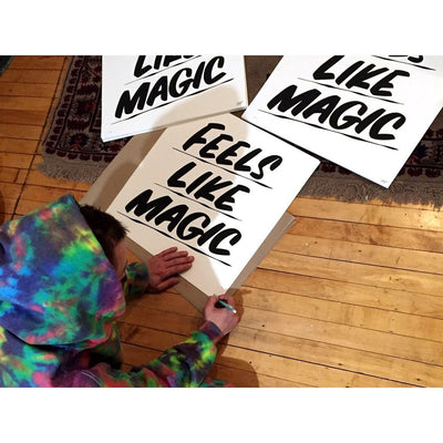 Feels Like Magic by Baron Von Fancy | Archive | Poster Child Prints