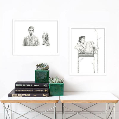 Langley Fox | Limited Edition Prints | Frida | Frida Kahlo Portrait