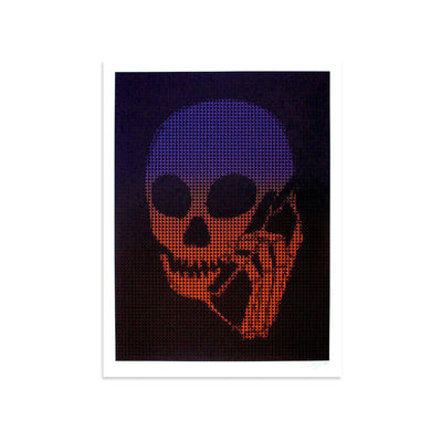Digital Red by Skullphone | Archive | Poster Child Prints