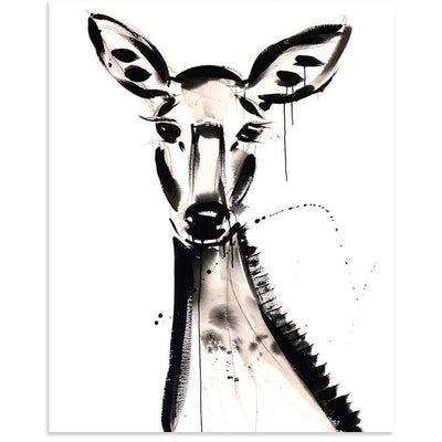 Doe is a newPrint by Jenna Snyder-Phillips | Poster Child Prints
