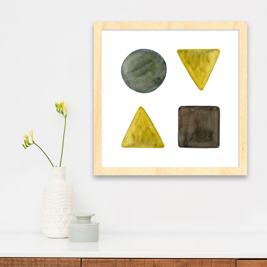 Earthly Shapes is a newPrint by PCP Collection | Poster Child Prints