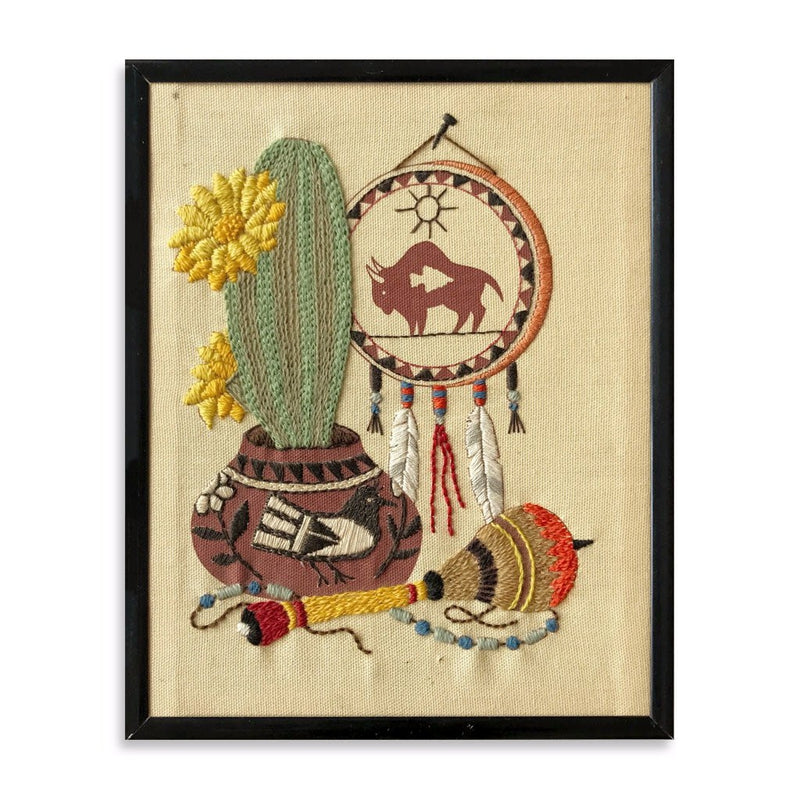 Cactus and Dream Catcher
