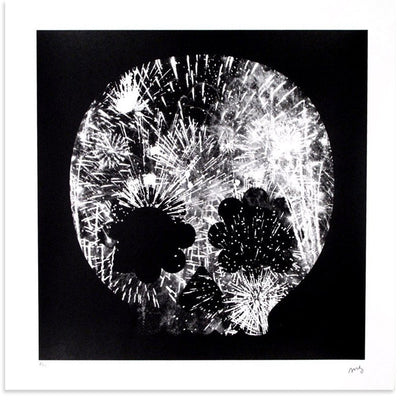 Explosion, Black & White, Matt Goldman | Poster Child Prints