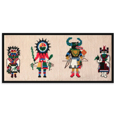 Four Kachinas by Found Art | Found Art | Poster Child Prints