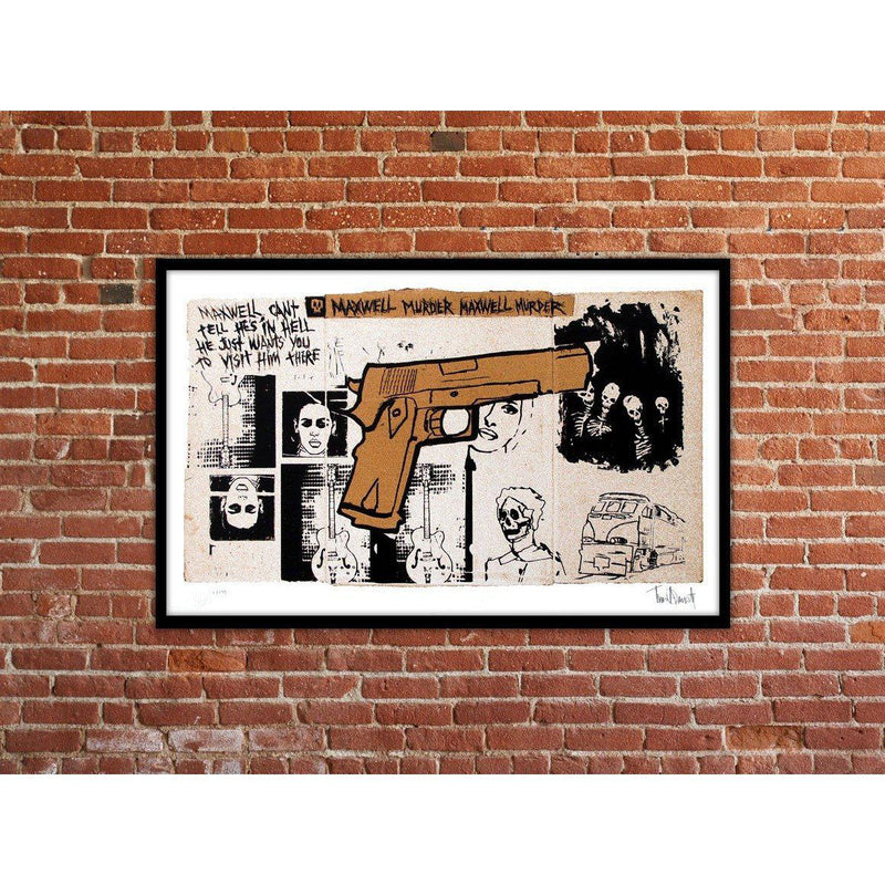 Maxwell Murder, 2014 by Tim Armstrong | Archive | Poster Child Prints