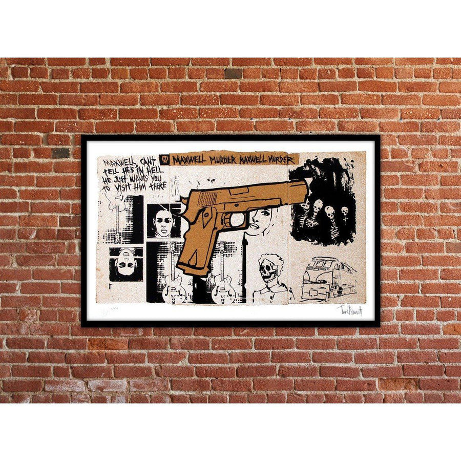 Maxwell Murder - Archive by Tim Armstrong | Archive | Poster Child Prints