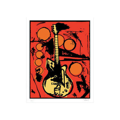 Vera's Guitar, Color Edition by Tim Armstrong | Archive | Poster Child Prints