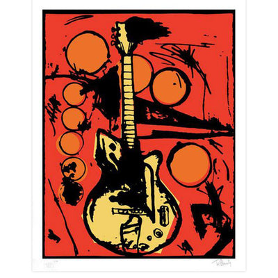 Vera's Guitar (Color Edition), Tim Armstrong | Poster Child Prints