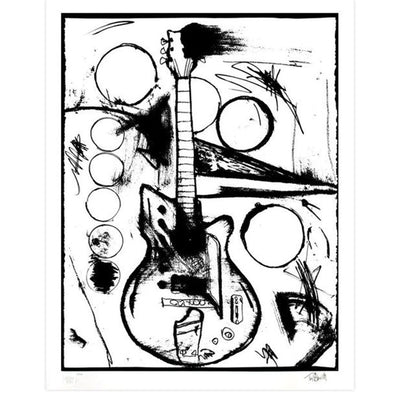 Vera's Guitar (Black & White Edition), Archive, Tim Armstrong | Poster Child Prints