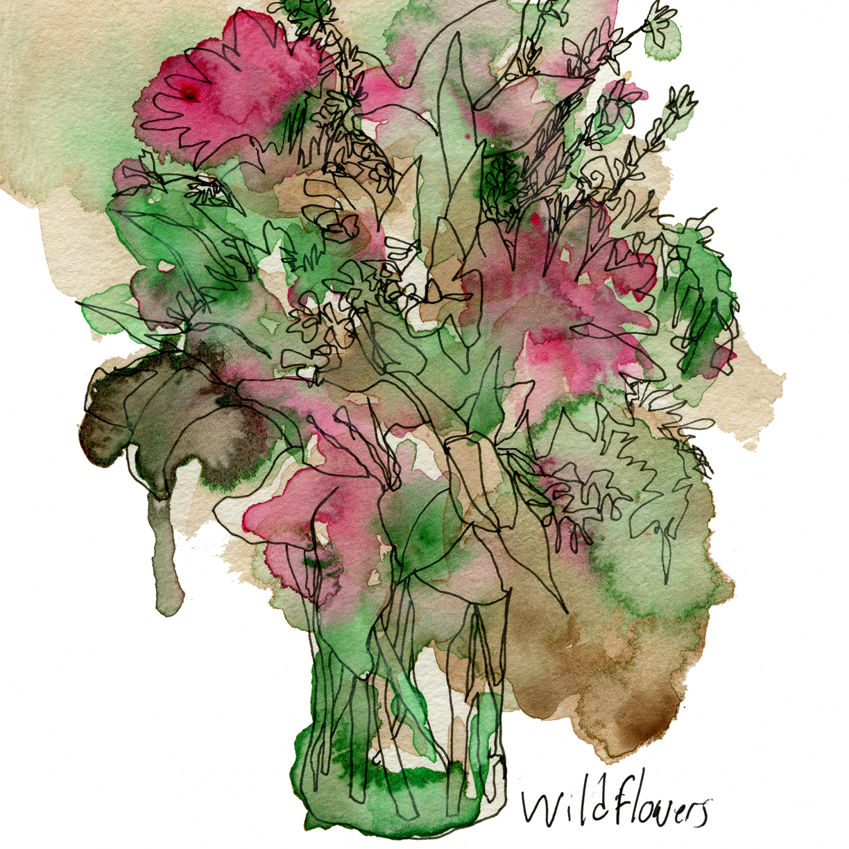 Wildflowers by Hannah Hooper-Giclée Print-Poster Child Prints