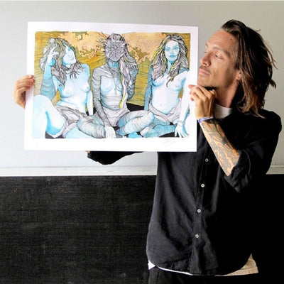 Terrestrials - Archive, Brandon Boyd | Poster Child Prints