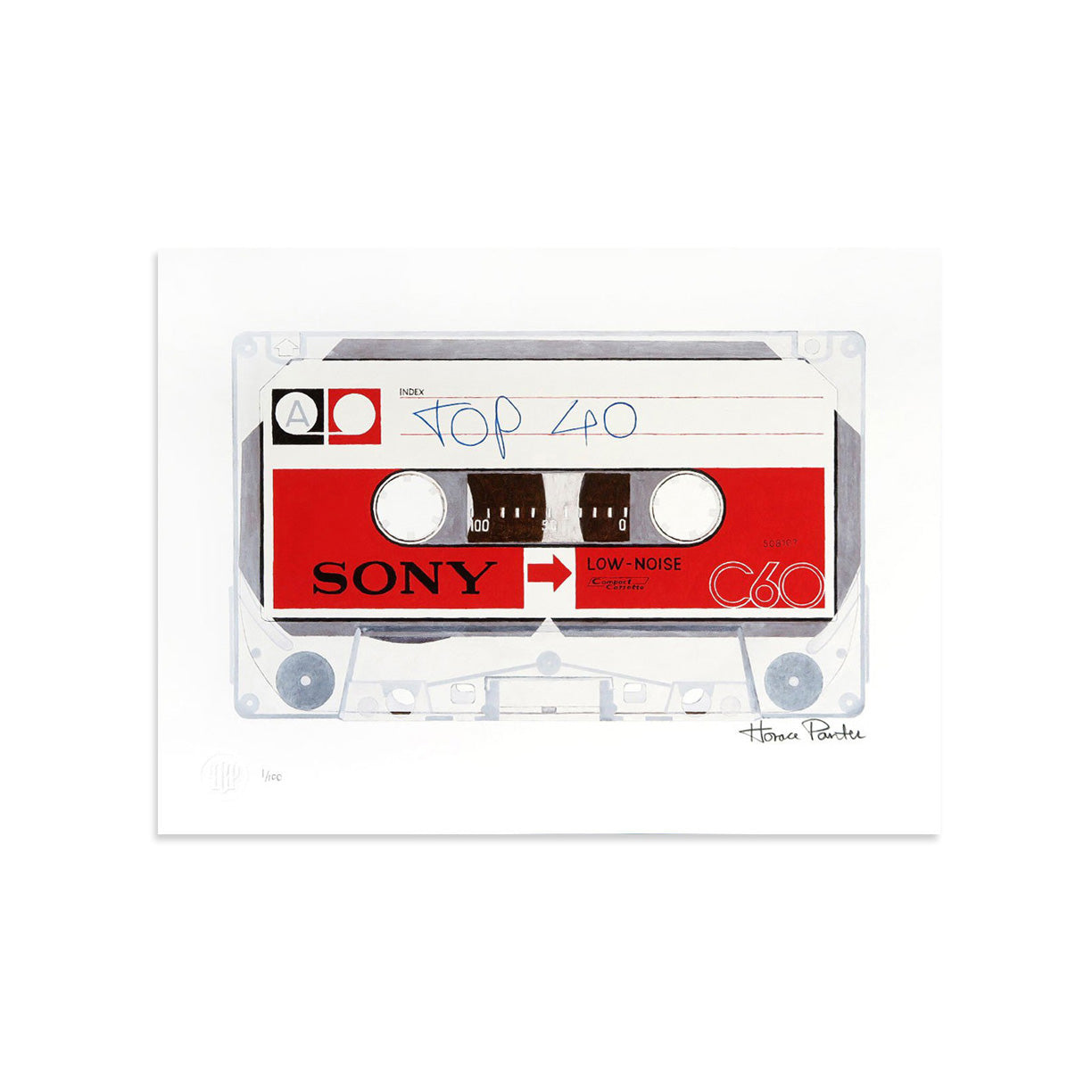 Top 40 by Horace Panter | Print | Poster Child Prints
