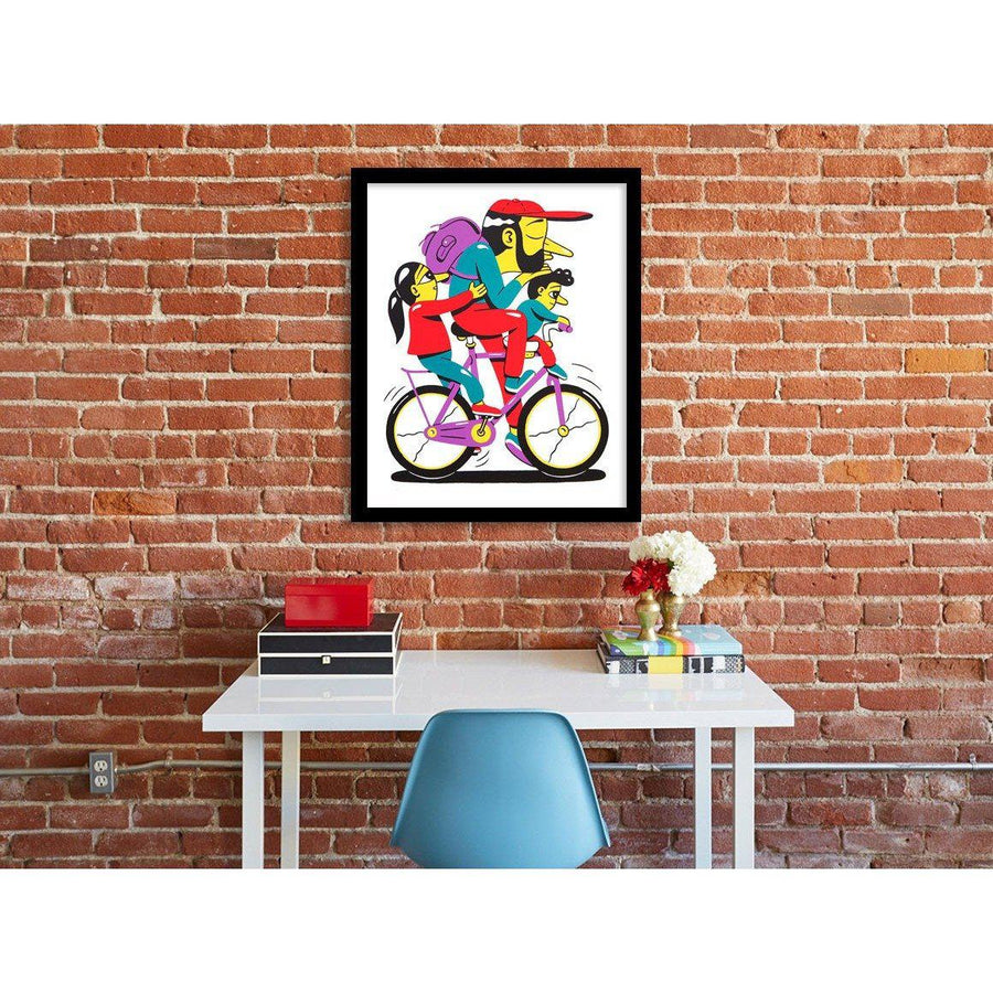 Look Kids No Hands | HuskMitNavn | Print | Poster Child Prints