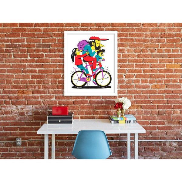 Look Kids No Hands | HuskMitNavn | Art Prints