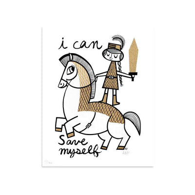 I Can Save Myself by Amanda Visell | Print | Poster Child Prints