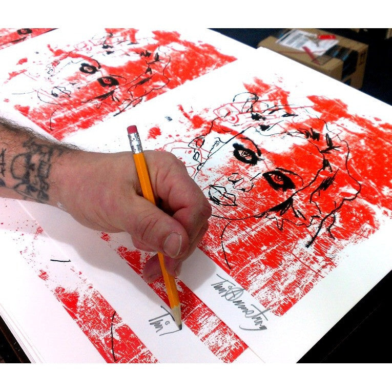 Misconceptions of Hell, Tim Armstrong | Poster Child Prints