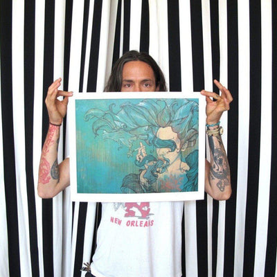 Spilling/Spinning by Brandon Boyd | Archive | Poster Child Prints