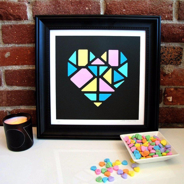 Love+Made | Poster Child Prints | Love+Made, Heart