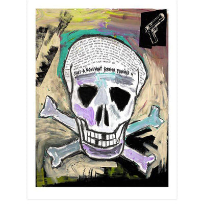 Skull and Crossbones, Tim Armstrong | Poster Child Prints