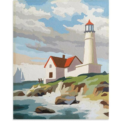 Lighthouse, Found Art | Poster Child Prints