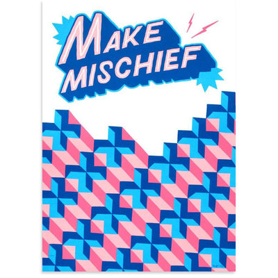 Make Mischief by Ornamental Conifer | Print | Poster Child Prints