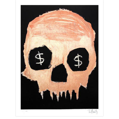 Money Skull by Tim Armstrong | Archive | Poster Child Prints